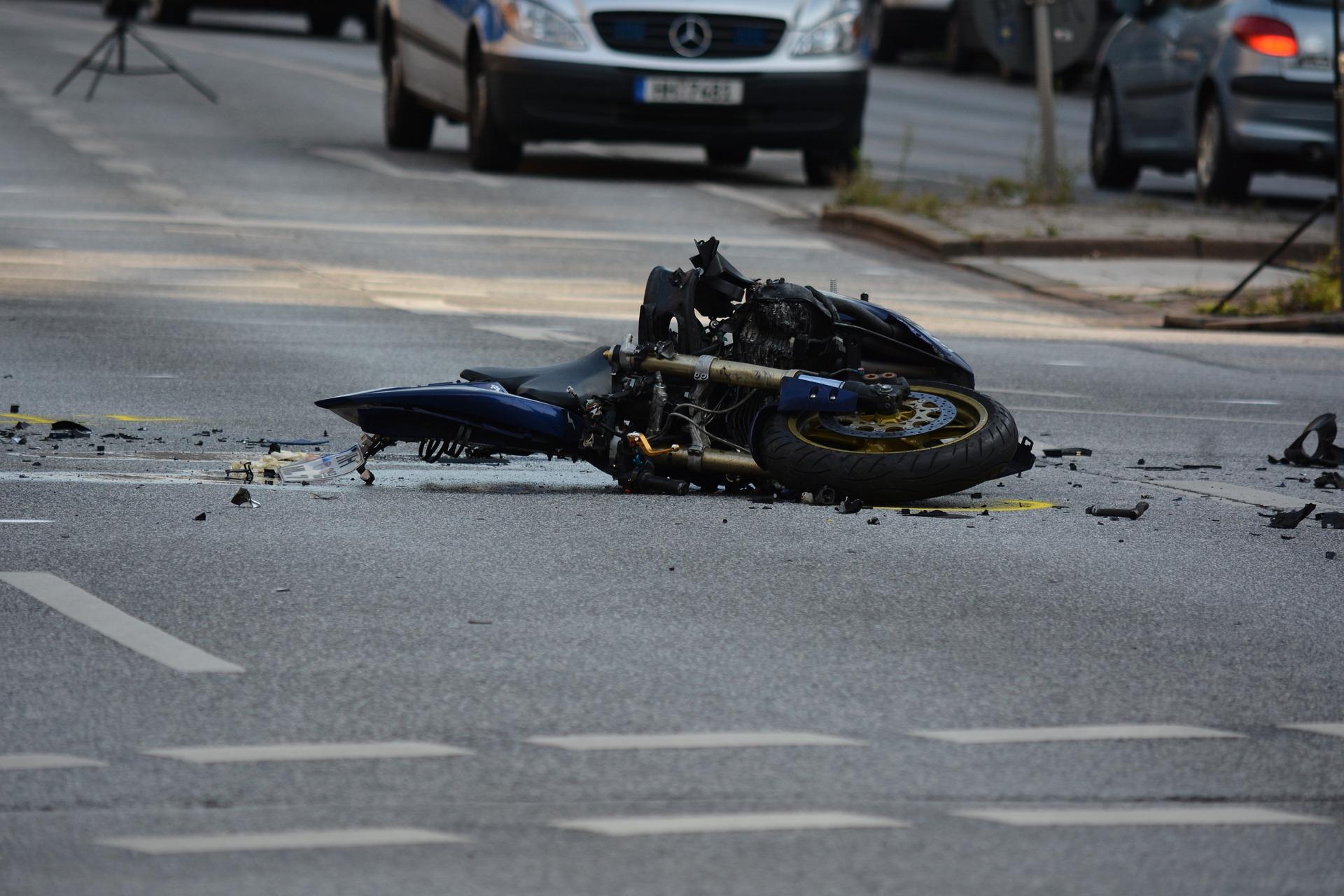 Biker Unfall